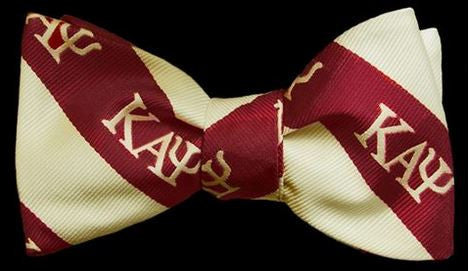 Kappa Alpha Psi - bow tie & handkerchief set