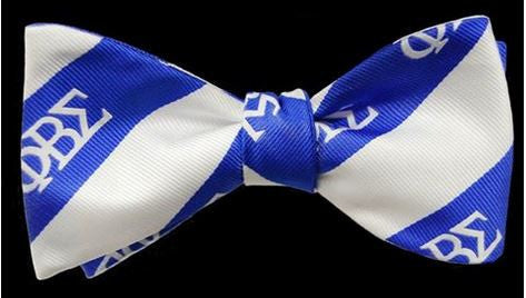 Phi Beta Sigma bow tie & handkerchief set