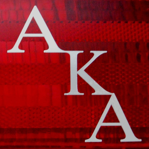 Alpha Kappa Alpha tail light decals