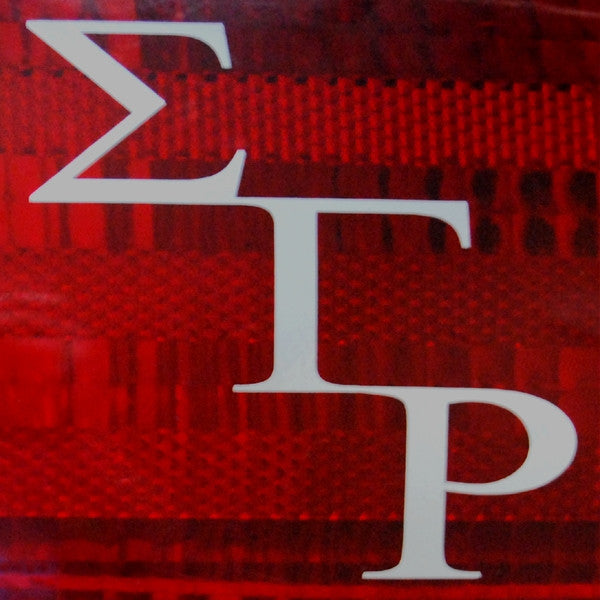 Sigma Gamma Rho - tail light decals