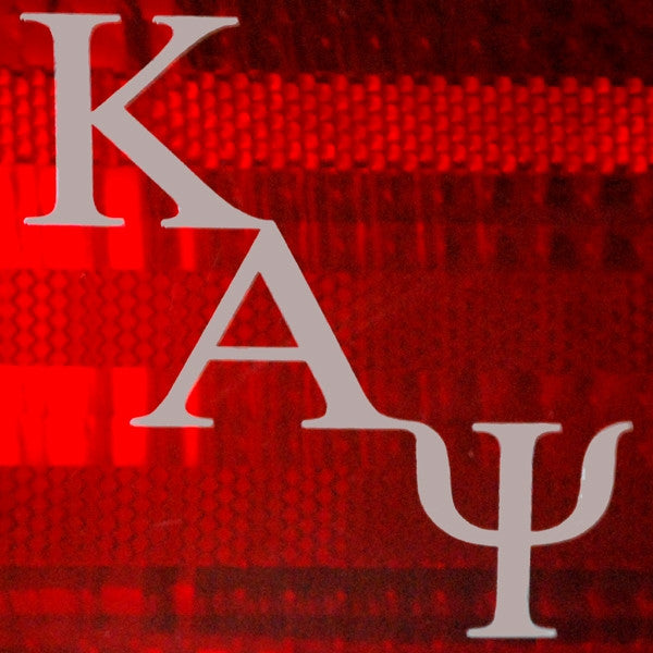 Kappa Alpha Psi tail light decals