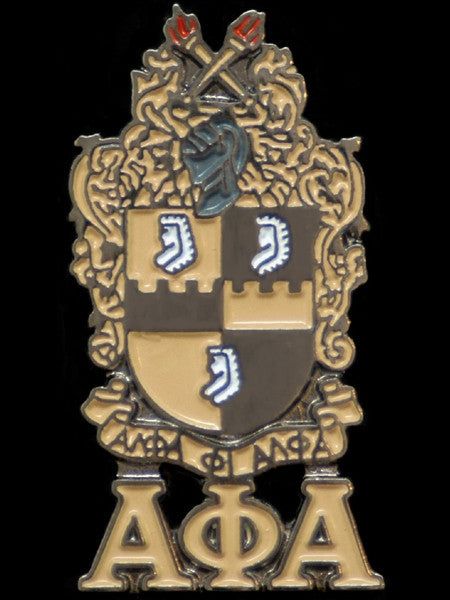 Alpha Phi Alpha lapel pin - shield