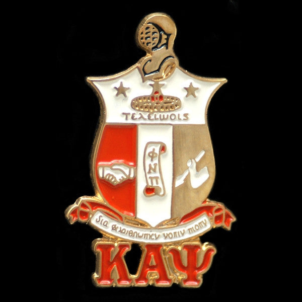 Kappa Alpha Psi cuff links - shield