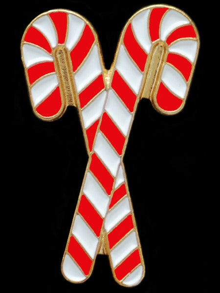 Kappa Alpha Psi lapel pin - candy cane