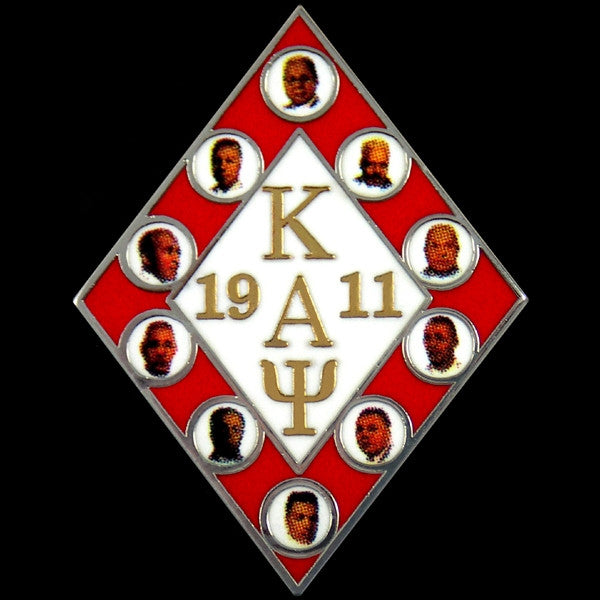 Kappa Alpha Psi lapel pin - founders