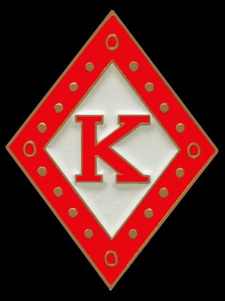 Kappa Alpha Psi - diamond lapel pin