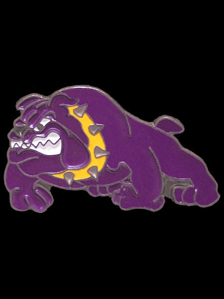 Omega Psi Phi lapel pin - bulldog