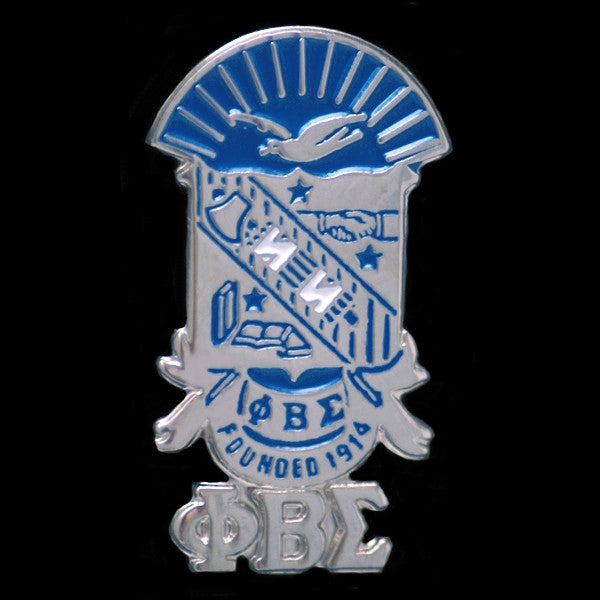 Phi Beta Sigma cuff links - shield