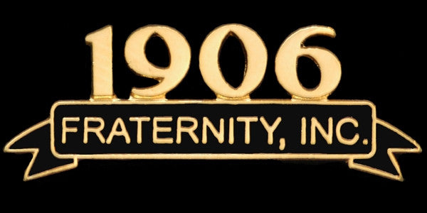Alpha Phi Alpha lapel pin - founded date