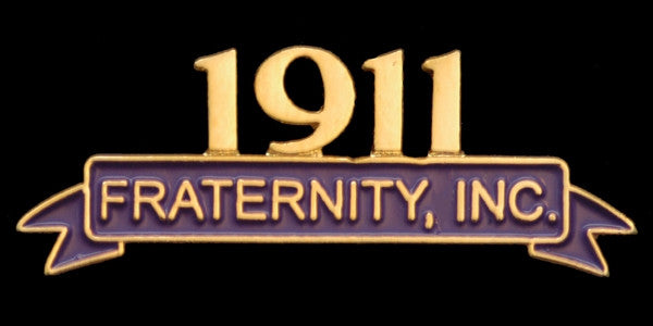 Omega Psi Phi lapel pin - founded date Inc