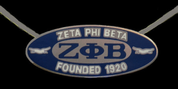 Zeta Phi Beta necklace - founded date