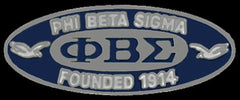 Phi Beta Sigma - founders lapel pin