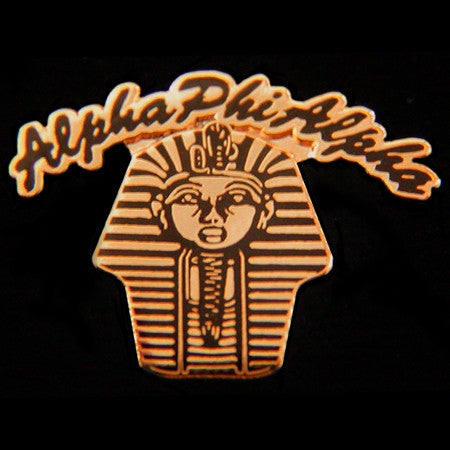 Alpha Phi Alpha lapel pin - pharaoh rocker