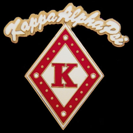 Kappa Alpha Psi lapel pin - rocker diamond