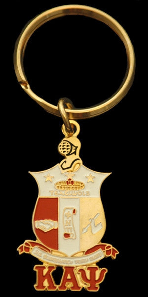 Kappa Alpha Psi keychain - shield