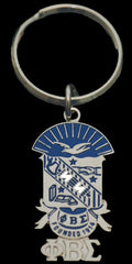 Phi Beta Sigma - shield keychain
