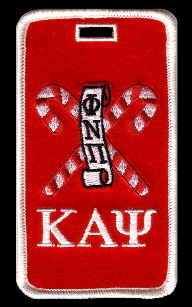 Kappa Alpha Psi luggage tag - Kane