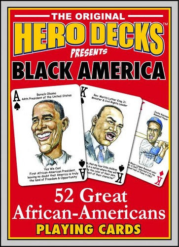 Hero Decks Black Americans - playing cards