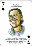 Great African Americans - playing cards