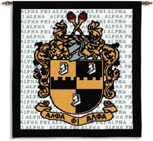 Alpha Phi Alpha tapestry - wall hanging