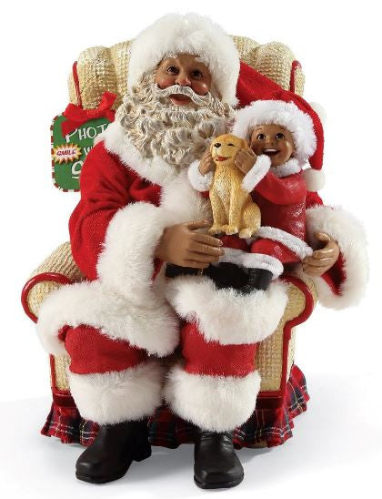 Picture With Santa - African American Santa Claus