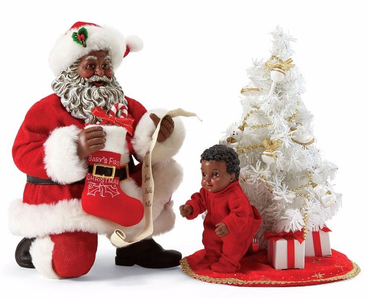 It 39 s a black african american santa claus for American christmas decorations