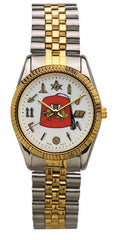 Shriners full working tools two-tone watch