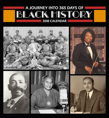 365 Days of Black History - 2018 calendar
