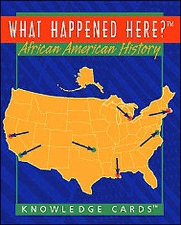Knowledge Cards - What Happened Here In Black History