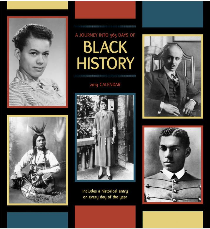 365 Days of Black History - 2019 wall calendar