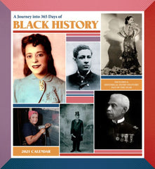 365 Days of Black History - 2021 wall calendar