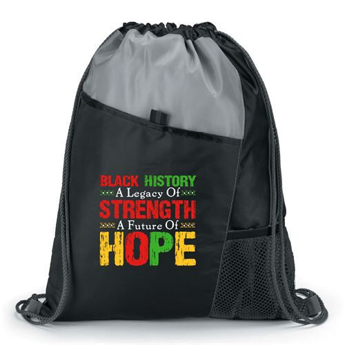 Black History backpack - Strength and Hope