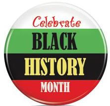 Black History Month - button