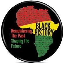 Black History Month - button - Remembering