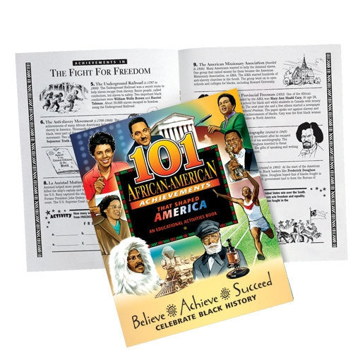 Black History Activity Book - 101 African American Achievements