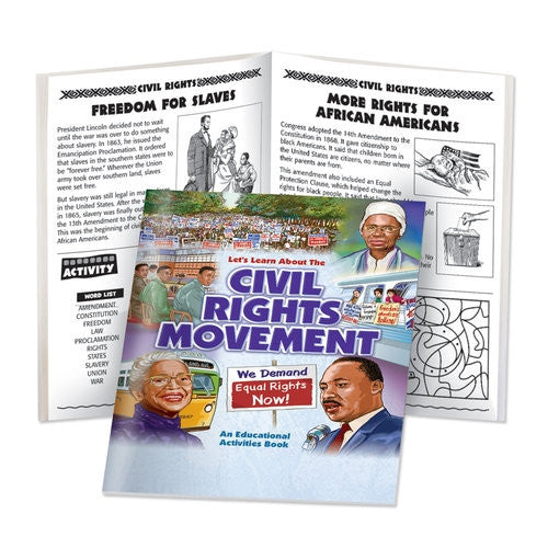 Black History Activity Book - Civil Rights Movement