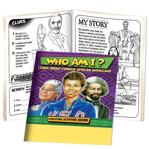 Black History Activity Book - Who Am I