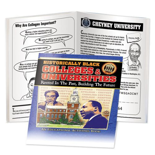 Black History Activity Book - Historically Black Colleges