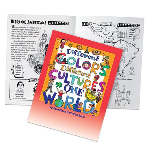 Black History Activity Book - Different Colors Different Cultures