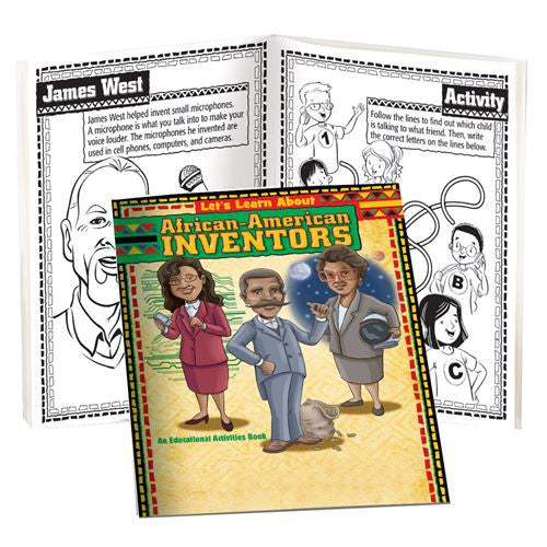 Black History Activity book - African American Inventors