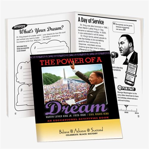 Black History Activity Book - The Power of a Dream