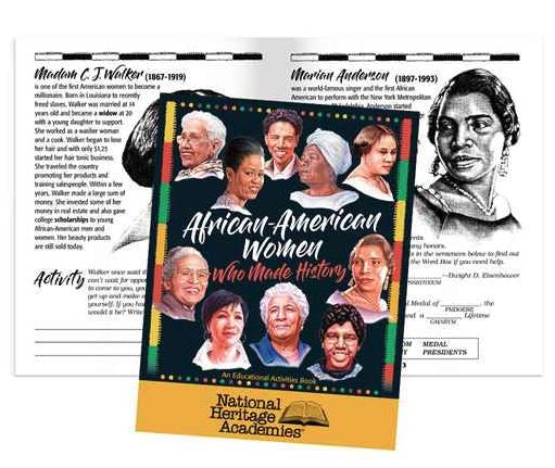 Black History Activity Book - African American Women