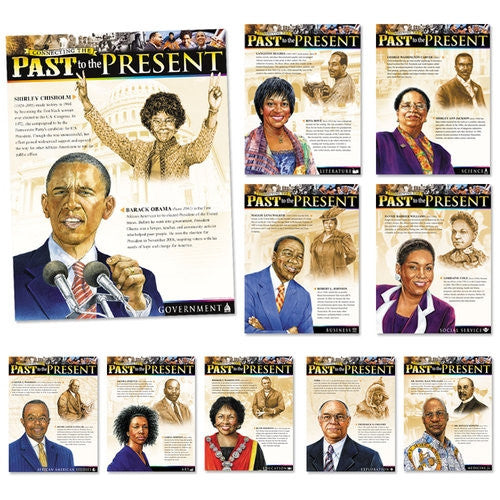 Black History Posters (set of 10) - Connecting the Past to the Present