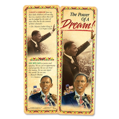 Black History bookmark - The Power of a Dream