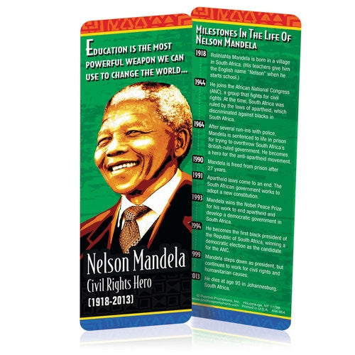 Nelson Mandela - bookmark