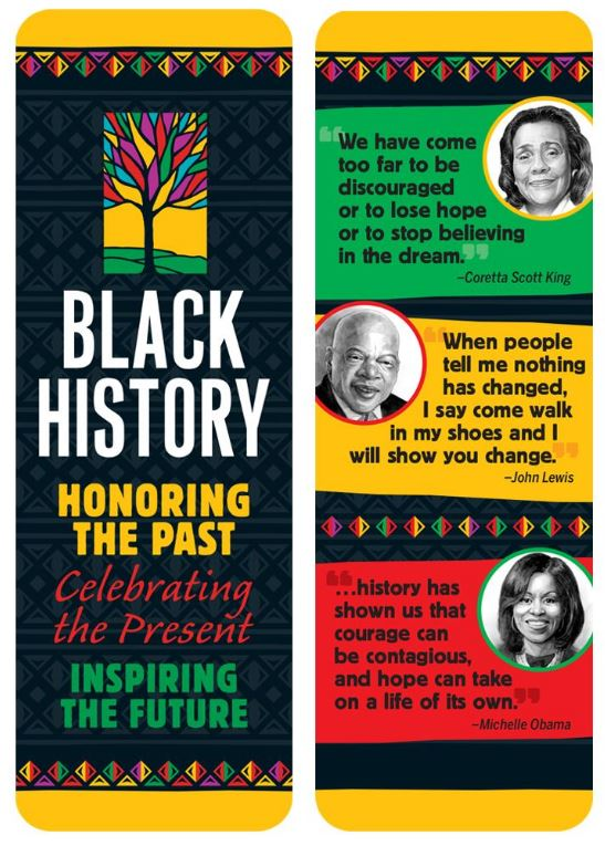 Black History bookmark - Honoring The Past