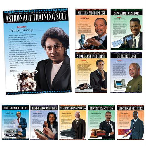 Black History Posters (set of 10) - African American Inventors