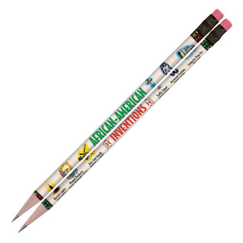 Black History Pencils (set of 10) - African American Inventions
