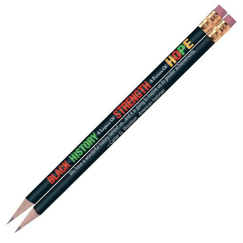 Black History Pencils (set of 10) - Legacy of Strength