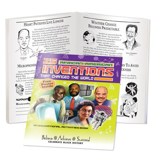 Black History Activity book - African American Inventions
